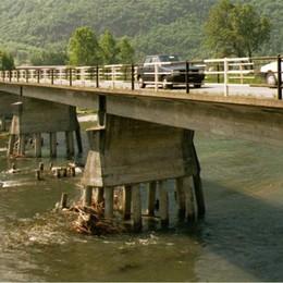 È il ponte sull'Adda più vecchio  Ora due giorni di sondaggi a Traona