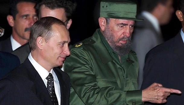 Castro: Putin,sua Cuba esempio per molti