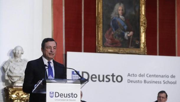 Draghi, ok riforma lavoro Italia