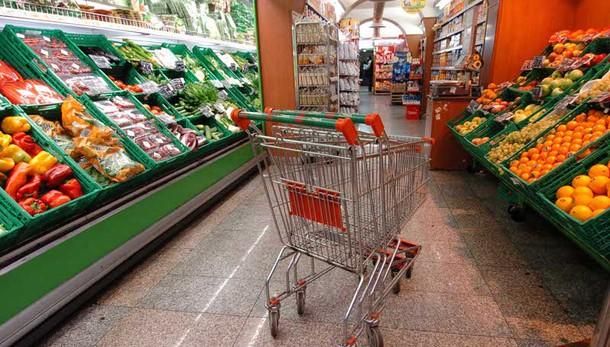Istat, prezzi carrello della spesa -0,1%