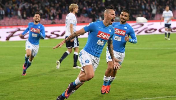 Serie A: Napoli-Lazio 1-1