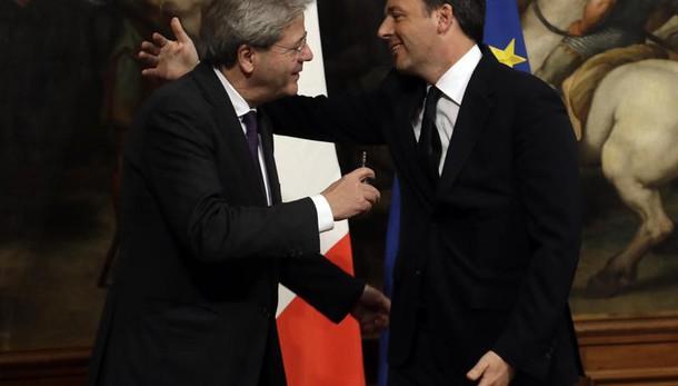 Gentiloni, rispetto per dimissioni Renzi