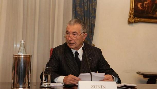 Zonin, sempre agito per bene Pop.Vicenza