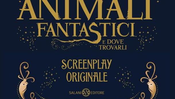 'Animali fantastici', screenplay Rowling