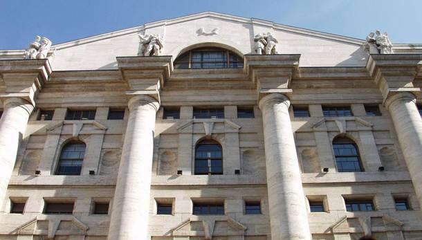 Borsa Milano in calo, Ftse Mib -0,18%