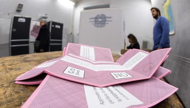 Ipr-Piepoli Rai, Sì 42-46%, No 54-58%