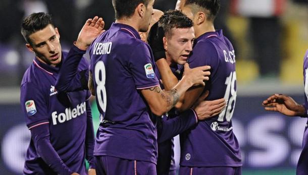 Posticipo serie A:Fiorentina-Palermo 2-1