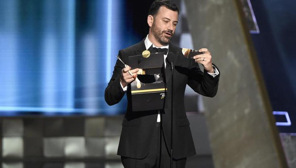 Jimmy Kimmel presentera' Oscar 2017