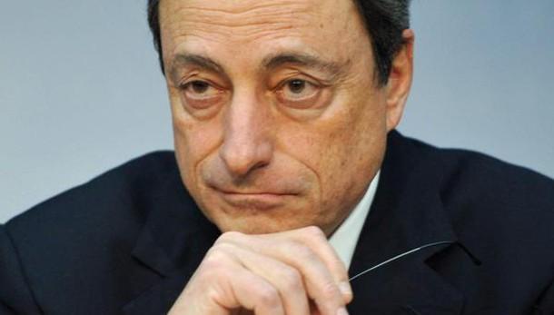 Draghi, Bce non sta aiutando Italia