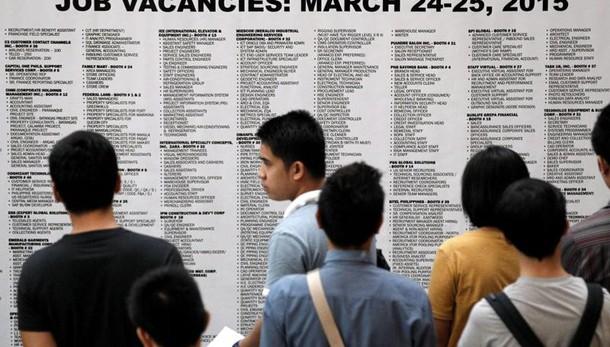 Usa:richieste sussidi disoccupazione giù