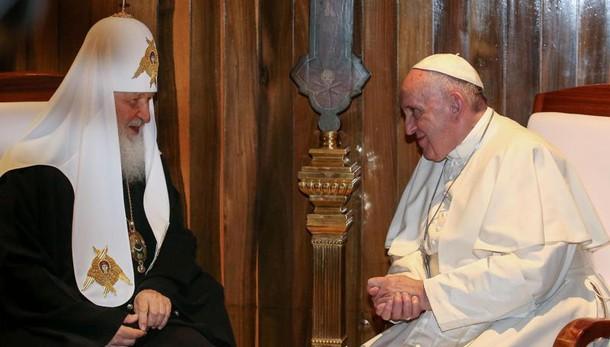 Papa a Kirill, finalmente, noi fratelli