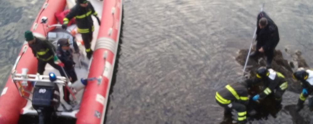 Dongo, cadavere di un uomo nel lago Si tratterebbe di un cittadino svizzero