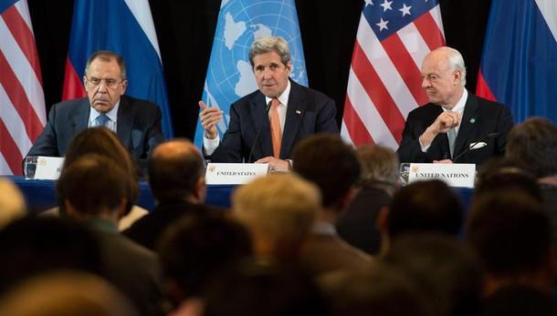 Kerry a Assad, rischio truppe di terra