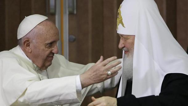 Papa: felice, con Kirill come fratelli