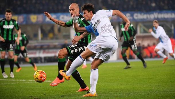 Serie A: Chievo-Sassuolo 1-1