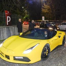 Cernobbio presentazione nuova Ferrari a Vila Erba