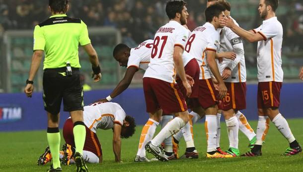 Anticipo serie A: Sassuolo-Roma 0-2