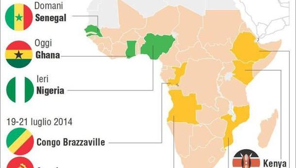 Renzi in Ghana, Eni firma contratti