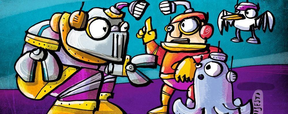 Polpi? No robot morbidi   Aiuteranno e giocheranno coi bimbi