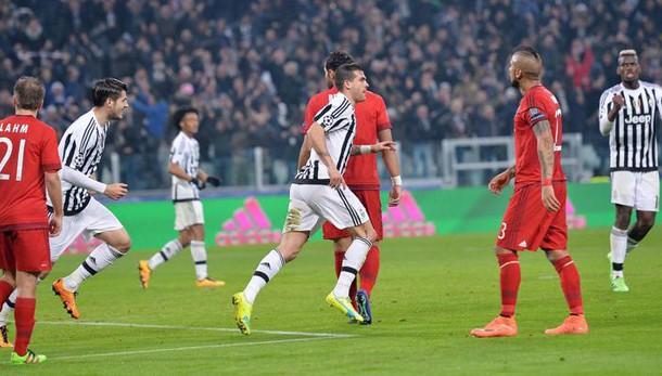 Champions: Juventus-Bayern 2-2