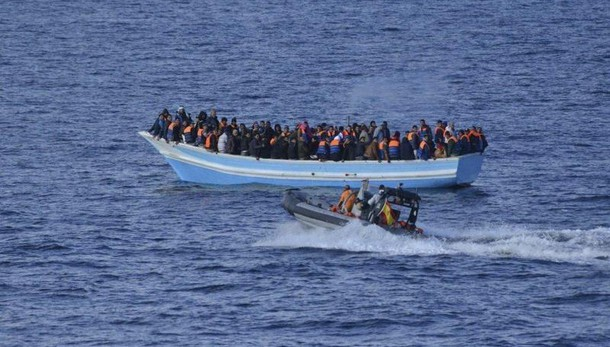 Oltre 110mila migranti via mare nel 2016