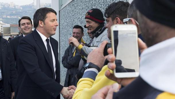 Renzi, un anno e più fiducia per Italia