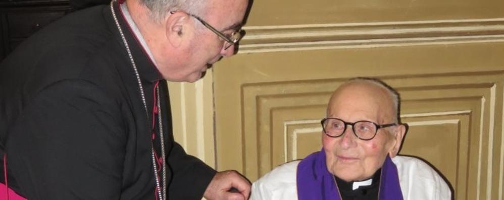 Don Luigi, Messa speciale a 102 anni