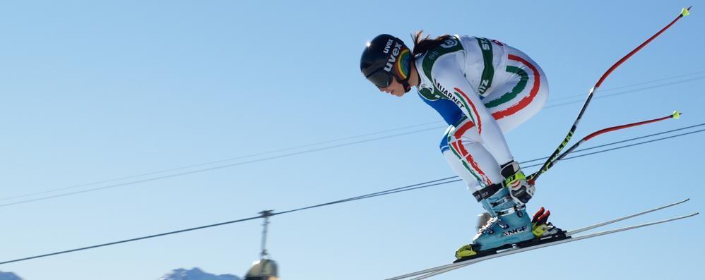 Sci alpino, Elenca Curtoni decima nel superg di Coppa
