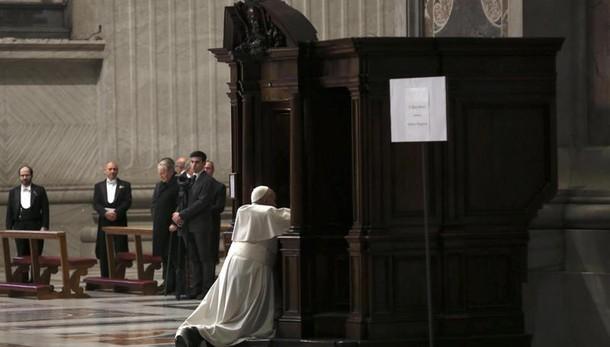 Papa, chi si confessa cerca cuore padre