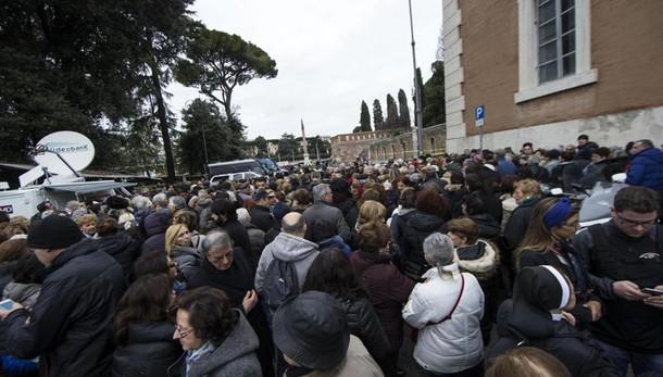 Spoglie San Pio arrivate a Roma