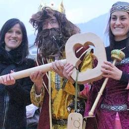 Il re e la regina hanno aperto il Carnevale in città
