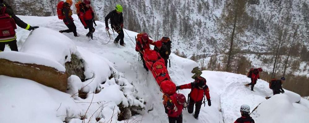 Soccorso Alpino Speleologico Lombardia: 1.274 interventi in un anno