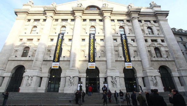 Borsa Milano chiude in rialzo +2,21%