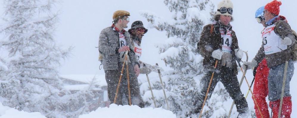 Piega malenca La nevicata non frena l'entusiasmo