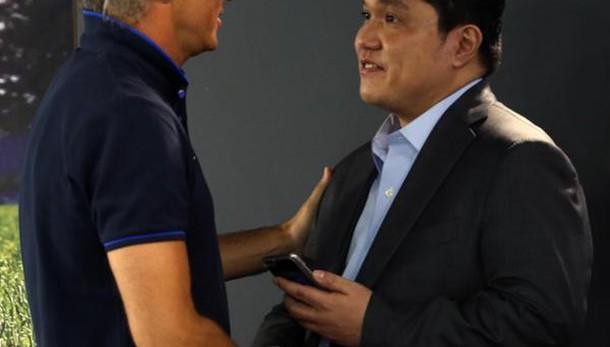 Inter, Thohir conferma Mancini