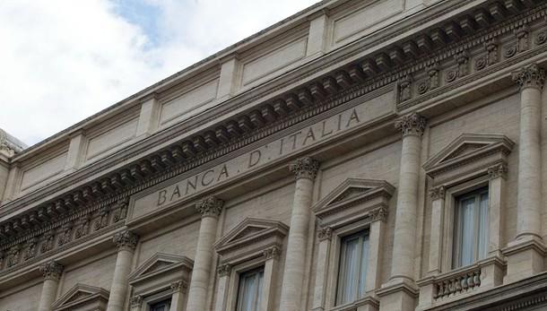 Bankitalia,debito gennaio sale a 2191mld