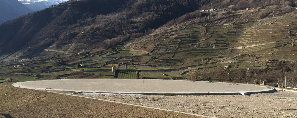Tirano, la cittadella delle emergenze pronta a inizio 2017