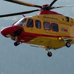 Elicottero del 118, nuova piazzola  dopo l'incidente