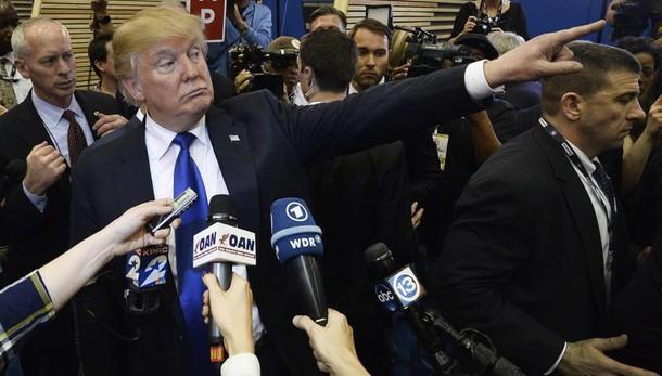 Trump attaccato per colloquio con Nyt