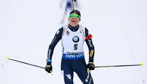 Biathlon: Mondiali, la Wierer è argento