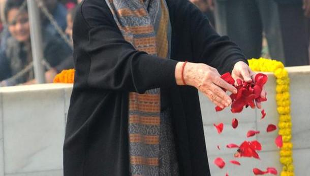 India: Sonia Gandhi 'non sta bene'
