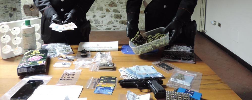 Sondalo, droga e bilancino in casa  Arrestato giovane di 19 anni