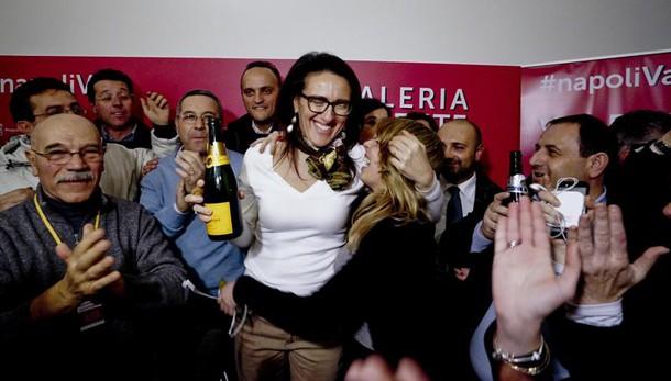 Napoli: Valente proclamata vincitrice