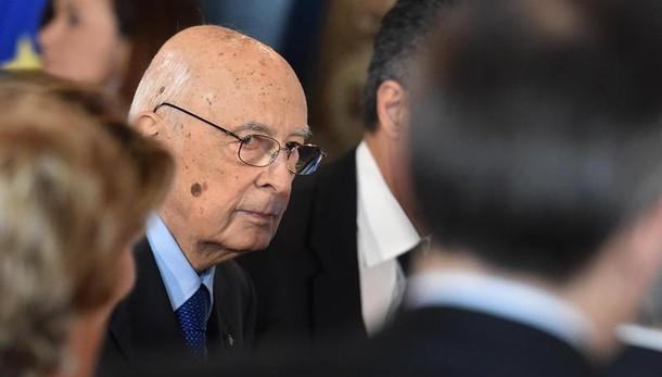 Napolitano, non escluso intervento Libia