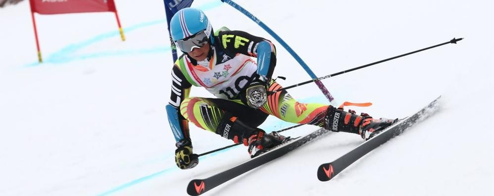 Sci alpino, Simon Talacci campione italiano Allievi in gigante