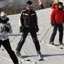 Fa troppo caldo, lo sci agli sgoccioli Resistono solo le piste della Val di Lei
