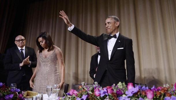 Usa: Obama si congeda dai giornalisti
