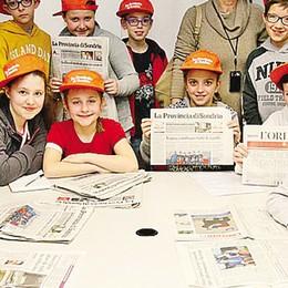 La visita in redazione  Gli studenti scrivono  e diventano giornalisti