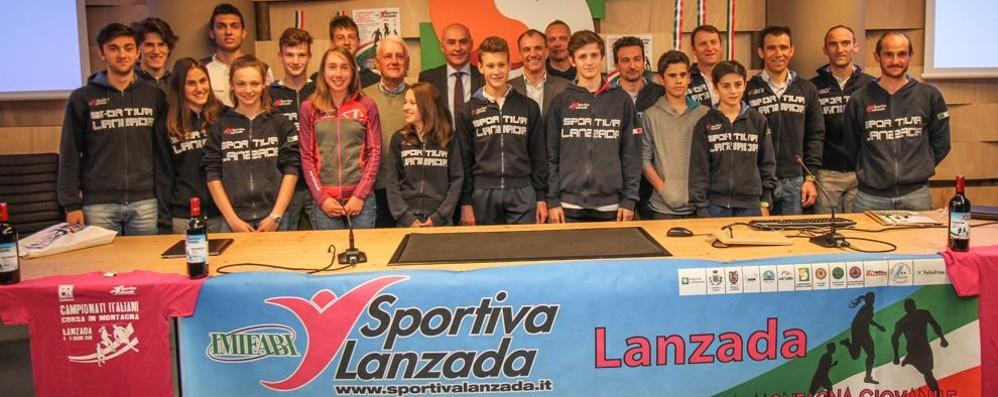 Campionati italiani a Lanzada  Il sindaco: «Un paese che corre»
