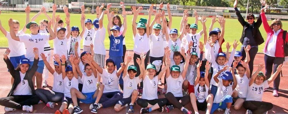 Sport e scuola, Castellina invasa dagli studenti di via Bosatta